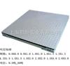 SCS5t-1.5*1.5m 5T1.5×2m高强度缓冲秤,电子地磅秤