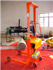 YCS松江300公斤手动倒桶秤,手动液压型产品报价