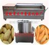 新款红薯剥皮机、土豆清洗去皮机、红薯清洗脱皮机、土豆专用脱皮机—大洋食品机械厂
